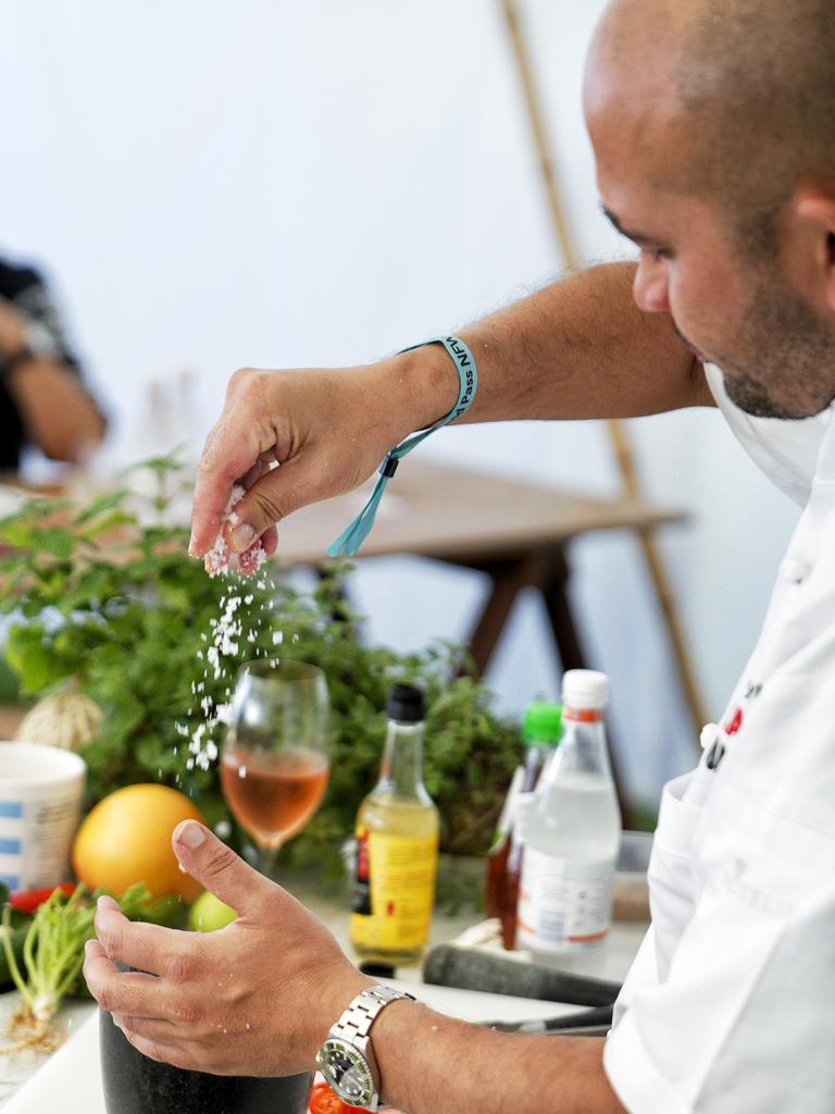 Festival Village – Olsson's Salts Masterclass at Noosa Eat and Drink 2019. Photo: Rob Locke
