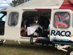PHOTOS: Three injured in horse riding incidents