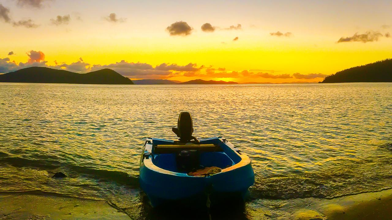 Just another stunning sunset in the Whitsundays. Captured at Dugong Beach, Cid Harbour, Whitsundays.