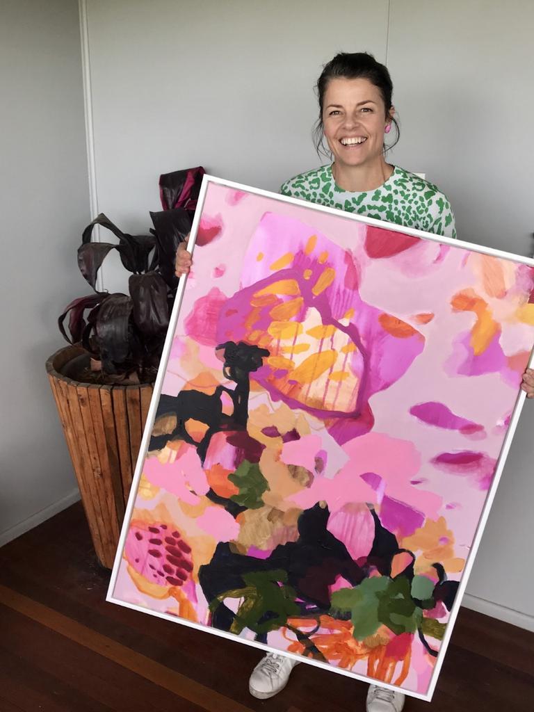 Kate Owen, talented artist from North Star and Bush Registry partner.