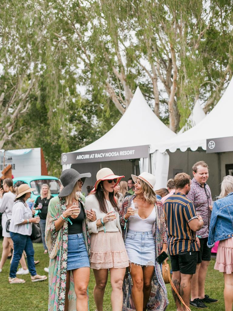 Noosa Eat and Drink 2019 festival goers