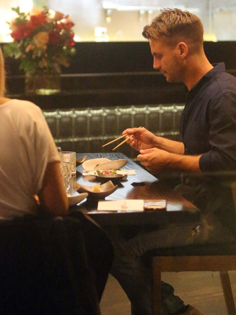 Diners enjoyed the award-winning Japanese dishes. Picture: Matrix News