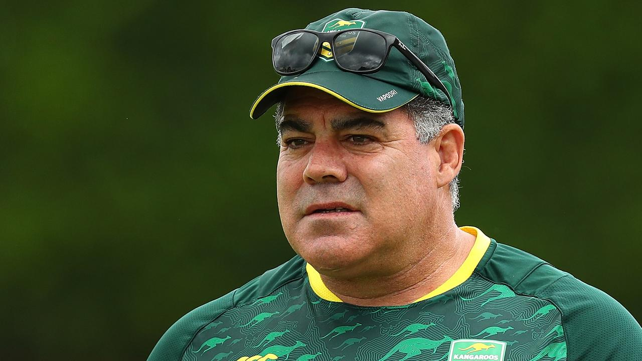 Would Mal Meninga lead the Kangaroos part-time? Photo: Chris Hyde/Getty Images