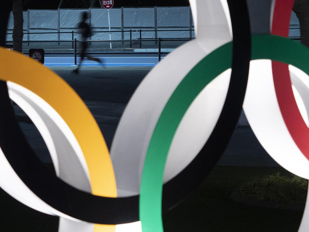 Almost two months after the Tokyo Olympics were postponed until next year, CEO Toshiro Muto said he still could not give an estimate of how much the delay will cost. Picture: AP