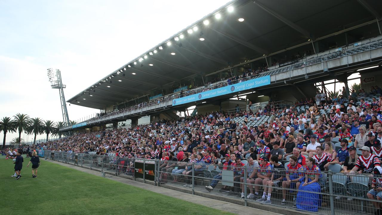 Central Coast Stadium doesn't see enough NRL action. Photo: Tony Feder/Getty Images