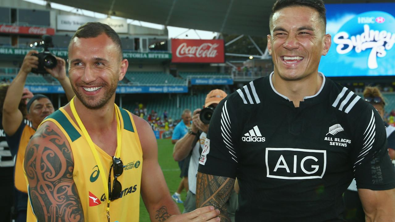 Cooper and Sonny Bill Williams have both been transformed by the diet.