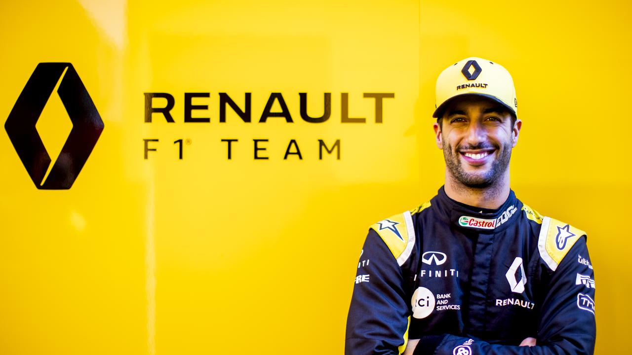 Daniel Ricciardo hasn't lasted long with Renault.
