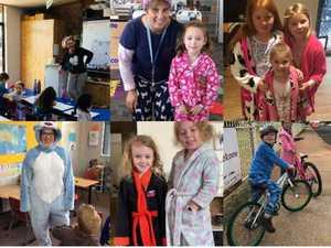 PHOTOS: St John's kids wear their pyjamas to school