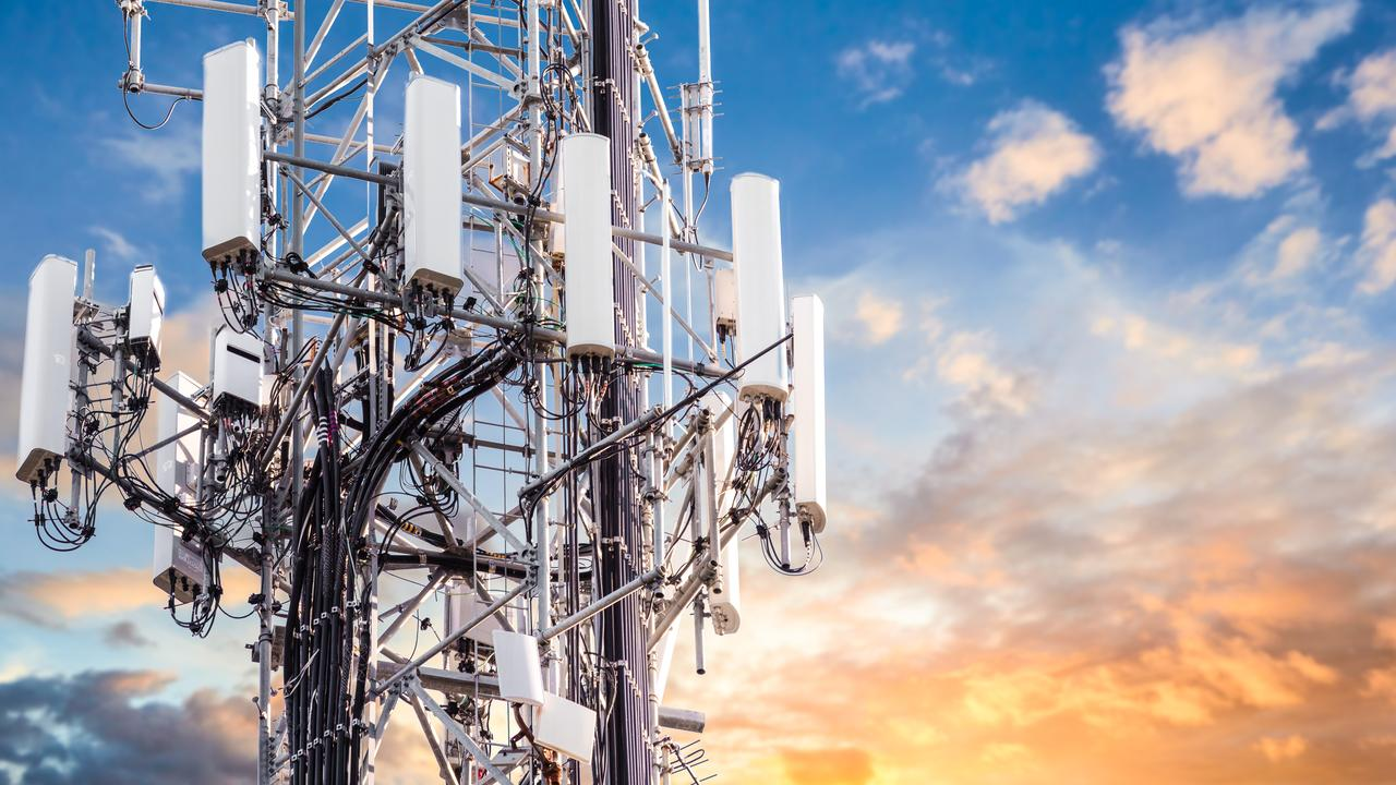 Another popular COVID-19 conspiracy theory to do the rounds online has been that the 5G network is responsible for the spread of the virus. Picture: iStock