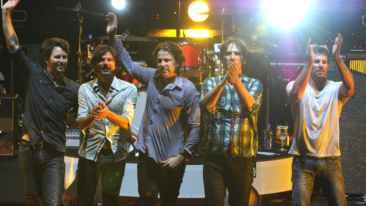 Australian rock band Powderfinger bid farewell in 2010. Now, they're getting back together. Picture: Dave Hunt
