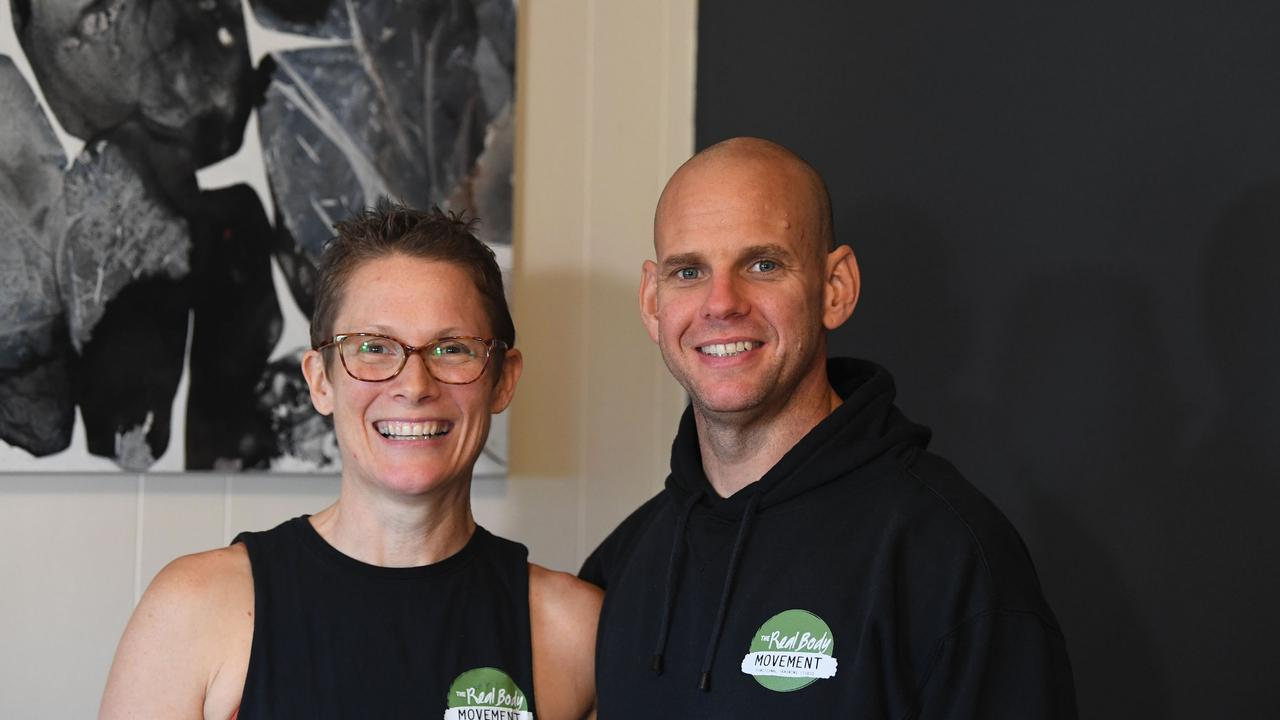 Fiona and Matt Keable, founders and head coaches of The Real Body Movement – Picture: Shane Zahner