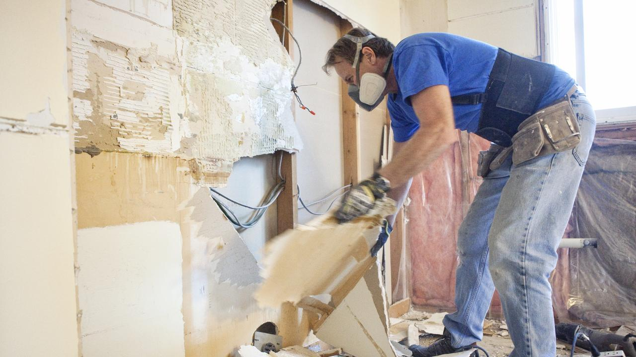 More homeowners have been attempting renovations, especially on kitchens and bathrooms.