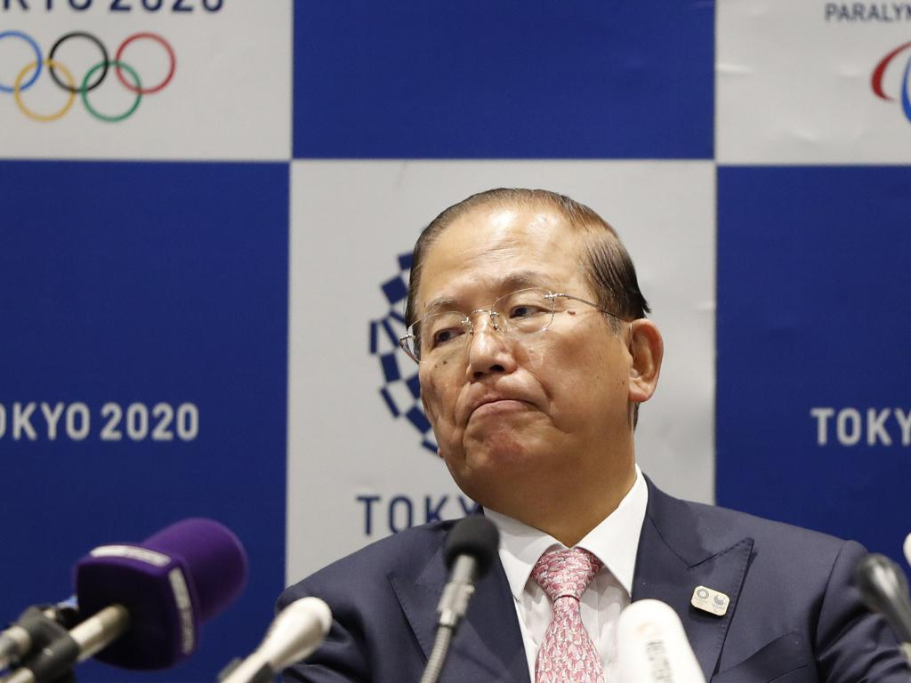 Tokyo 2020 Organizing Committee CEO Toshiro Muto said he still could not give an estimate of how much the delay will cost. Picture: AP