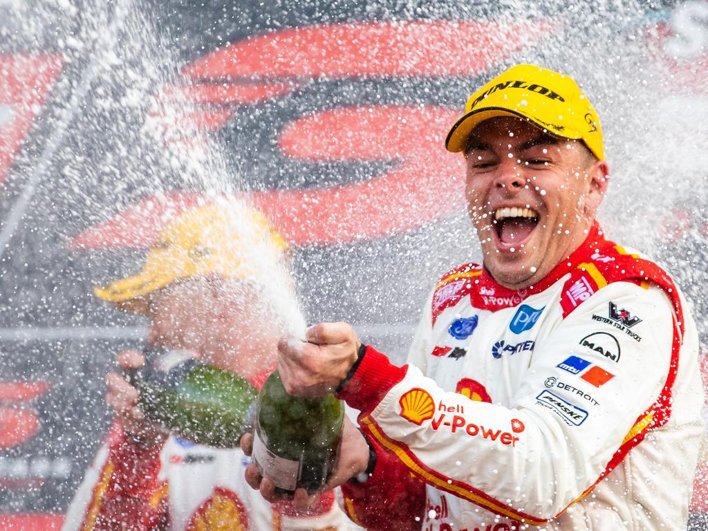 McLaughlin after winning the Bathurst 1000 last year.