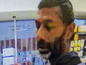 Man in court over supermarket assault