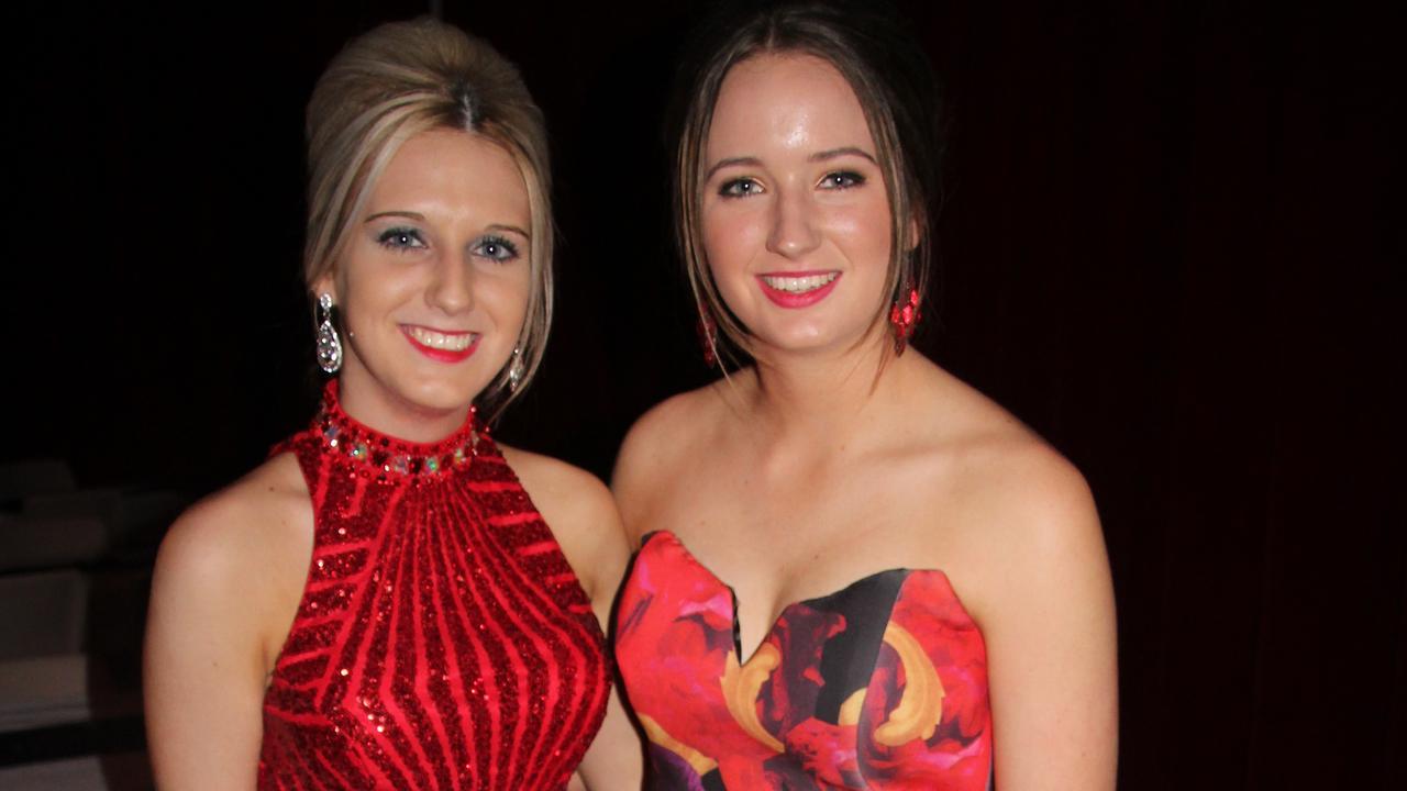 Sarah Newman & Taylah Pearson.