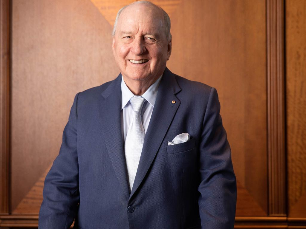Alan Jones announced his retirement from radio this week. Picture: Renee Nowytarger