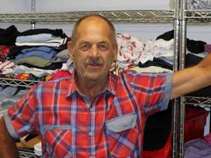 Donated clothes help patients regain their dignity