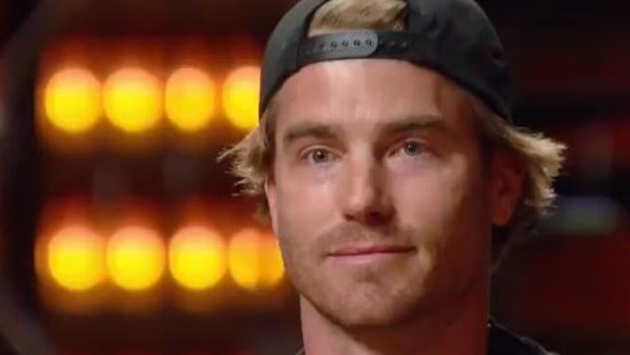 Hayden Quinn has been eliminated from MasterChef. Picture: 10