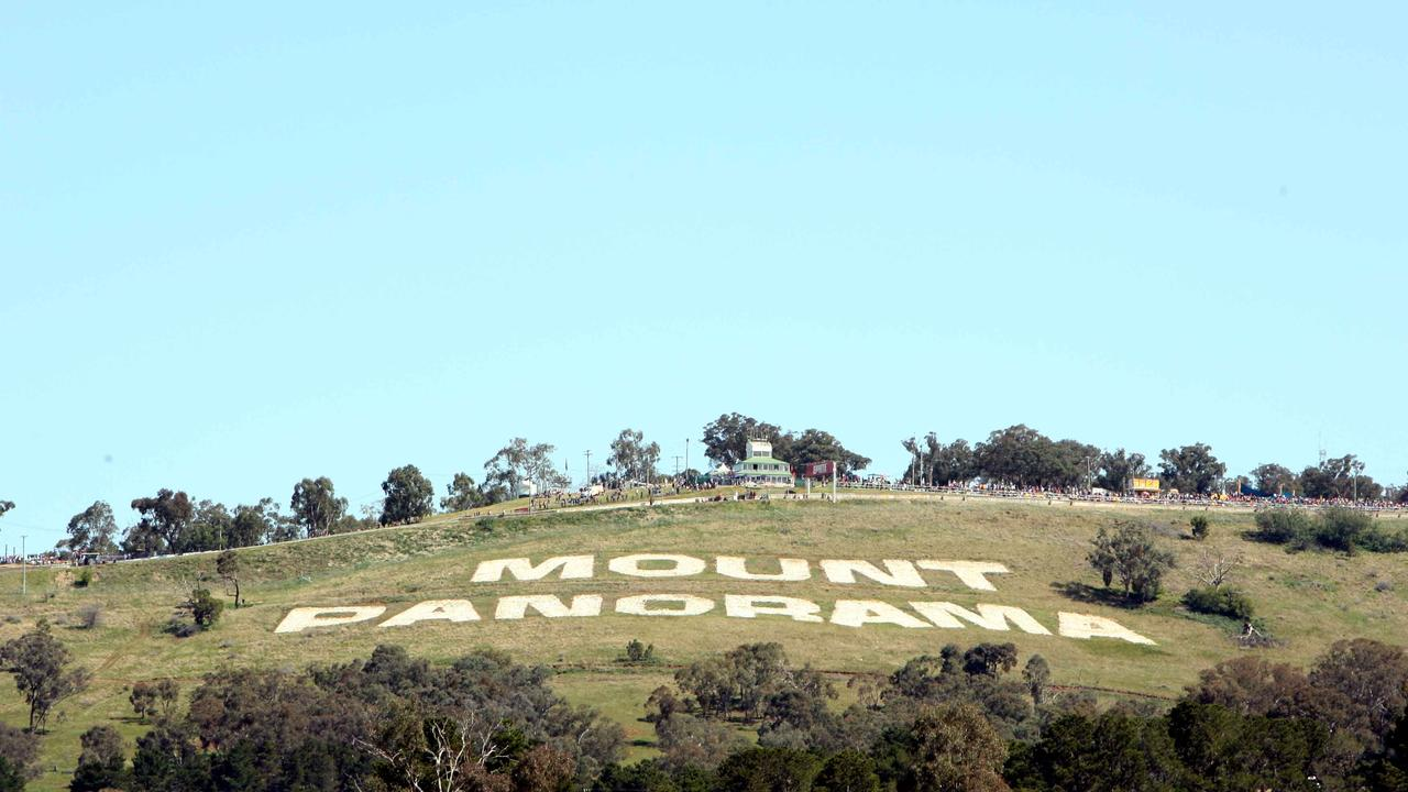Generic photo of the Mount Panorama sign at Motor Racing Circuit at Bathurst in central west NSW.