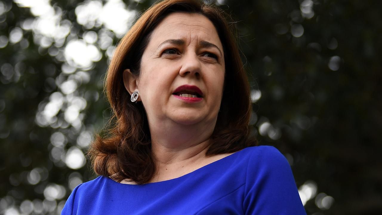 There are calls for Queensland Premier Annastacia Palaszczuk to cut red tape to resuscitate the economy. Picture: AAP/Dan Peled