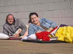 Tony's Kitchen volunteers sleep rough