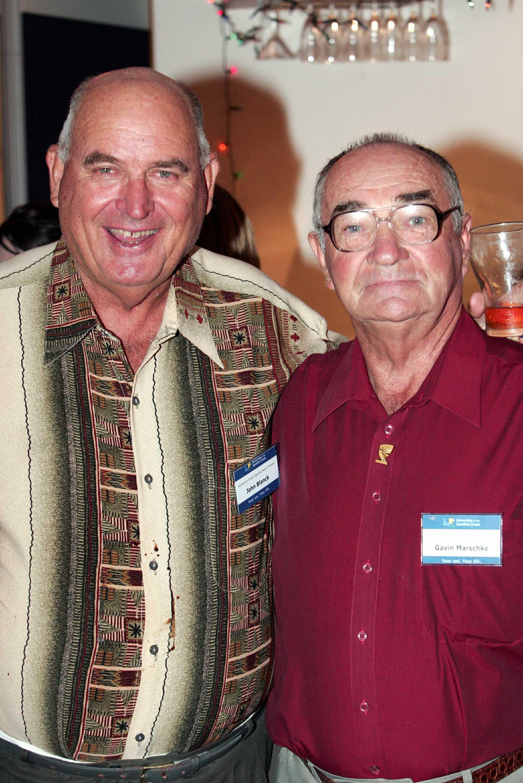 Sunshine Coast Sports hall of fame night - John Blanck and Gavin Marschke.