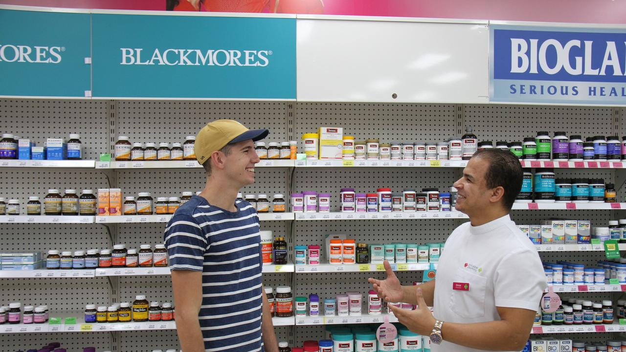 Priceline Gladstone Pharmacist Omar Elsayed shares some potentially lifesaving tips on how to care for over 60's during COVID-19 with Tyler Spinks of Tannum Sands.