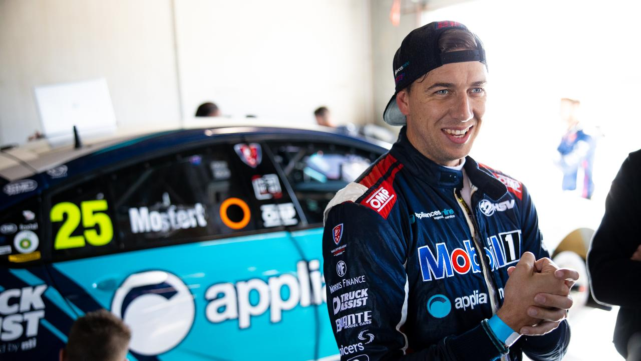 READY TO RACE: Chaz Mostert cannot wait to get back on the track when the Virgin Australia Supercars Championship resumes on June 27 at Sydney Motorsport Park. Picture: Daniel Kalisz Getty images