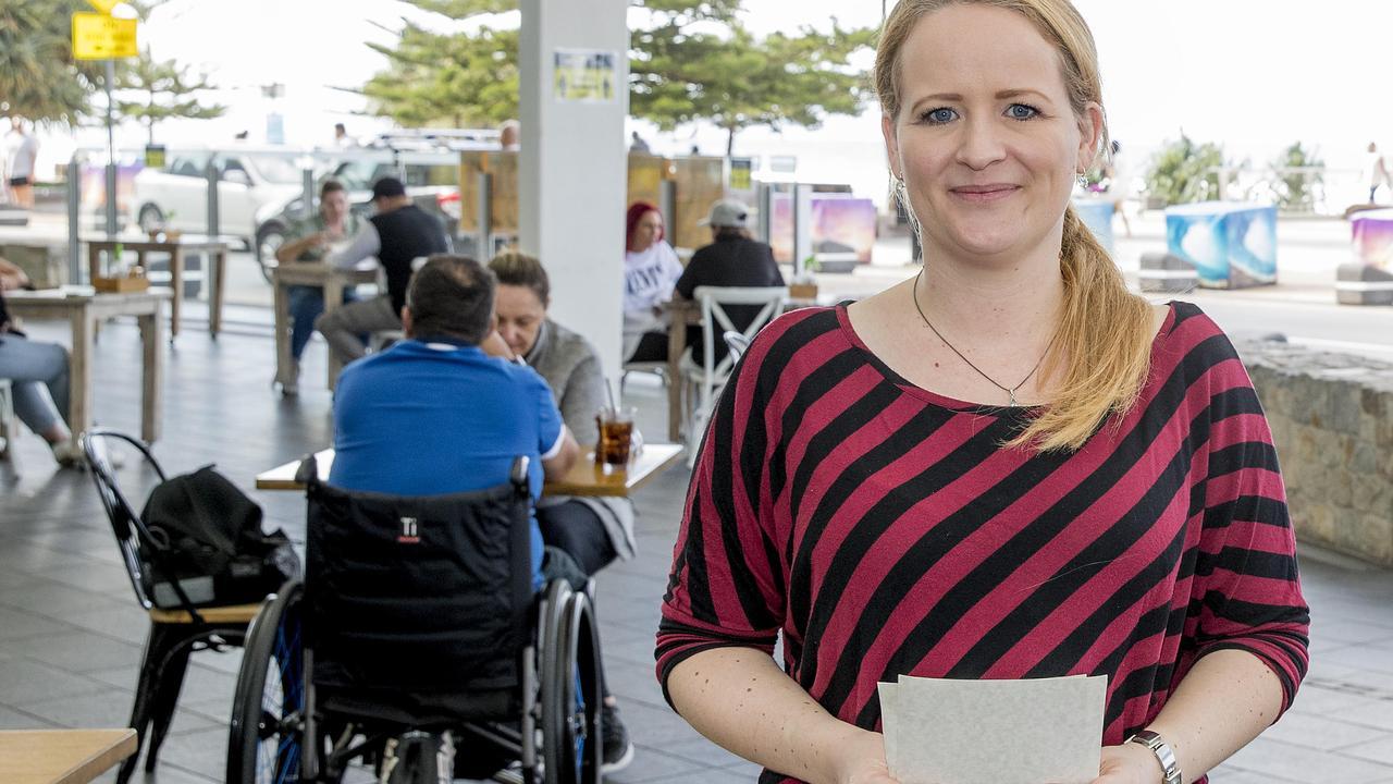 Ann-Rike Kruse at Elston on Saturday. Picture: Jerad Williams