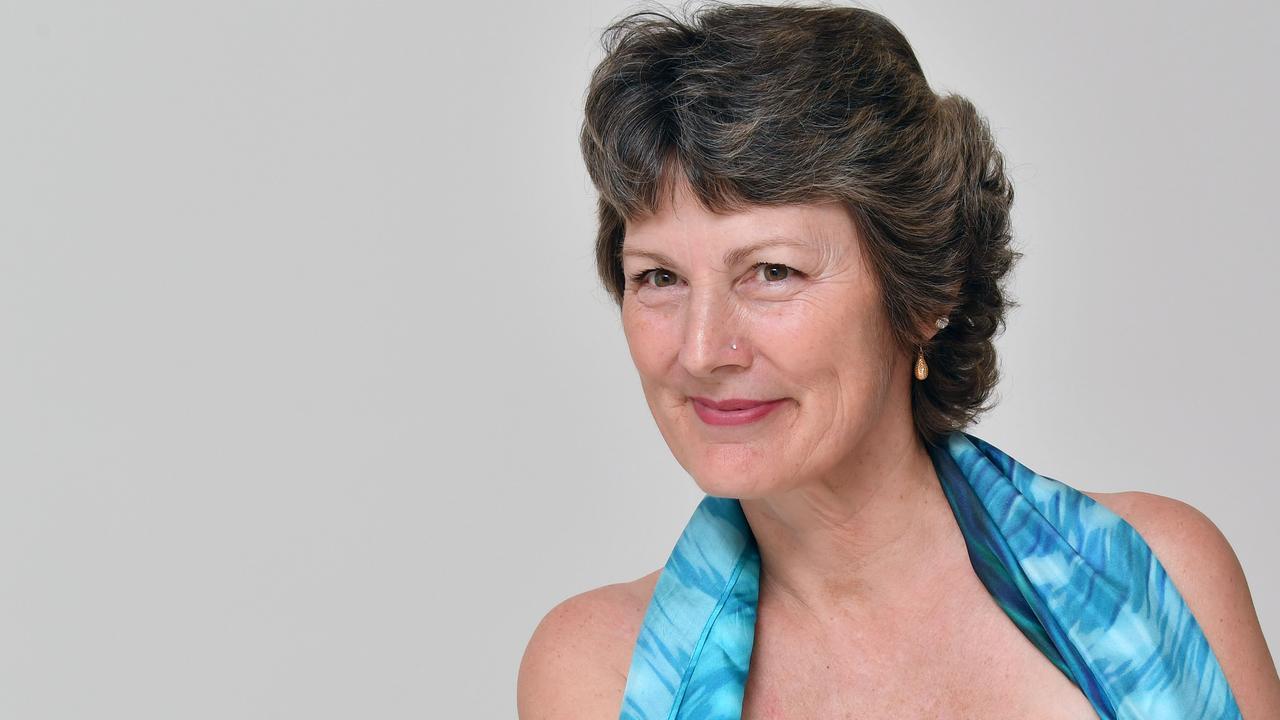 Tiana Fry who has undergone a double mastectomy. Picture: Tony martin
