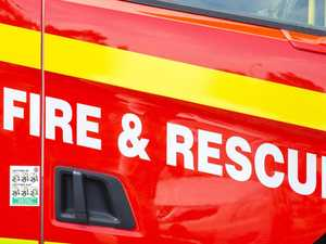 QFES issues warning after Toowoomba property set ablaze