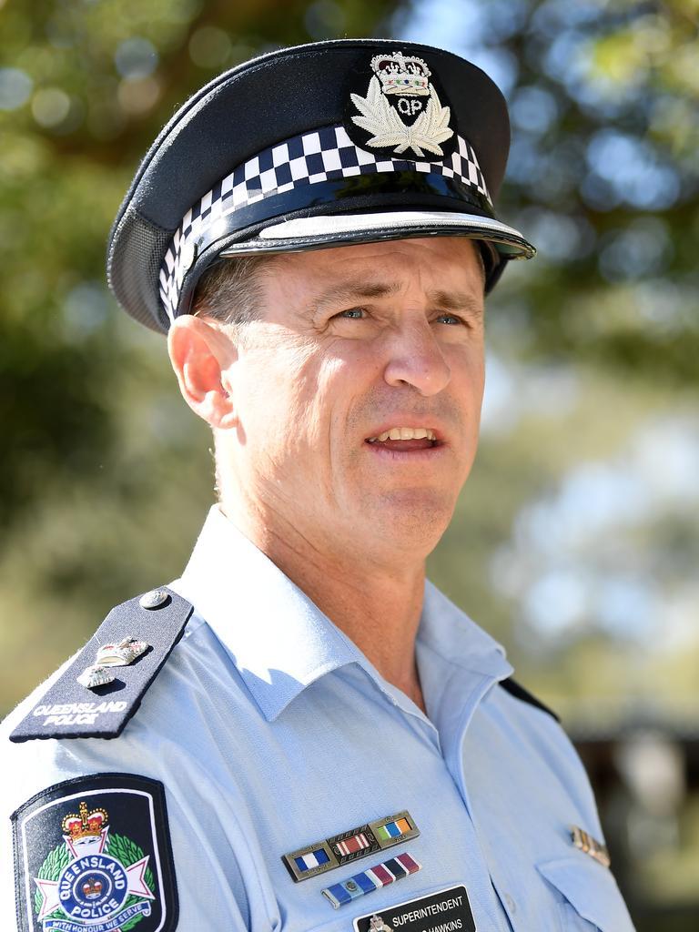 Sunshine Coast Superintendent Craig Hawkins. Photo: Patrick Woods