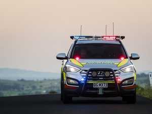 Man crashes into kangaroo, car rolls