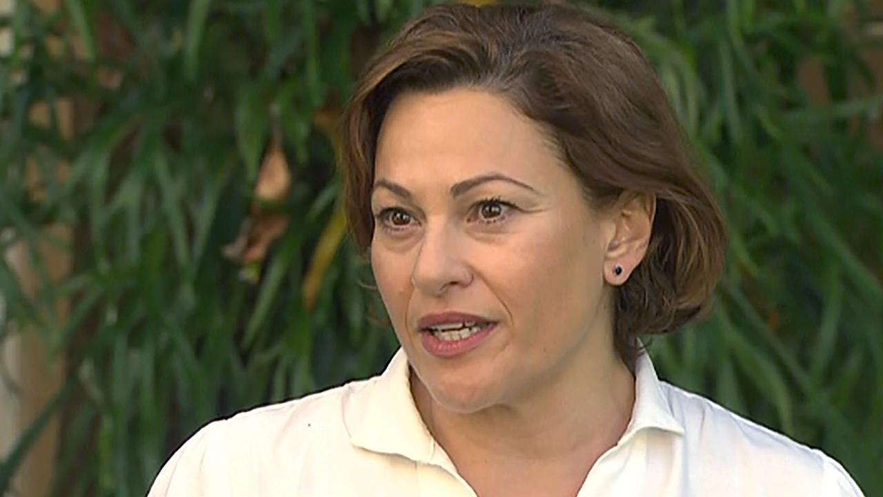 Jackie Trad will recontest her seat of South Brisbane despite resigning as deputy premier in the wake of a Crime and Corruption Commission investigation into the appointment of the Inner City South Secondary College principal. Picture: 7 News