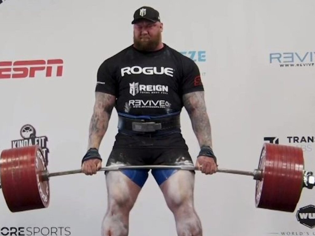 Hafthor Bjornsson has set a world record by deadlifting 501 kilograms