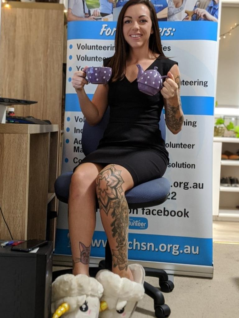 Gympie Region Volunteer Centre coordinator Carley O'Donnell will hold a virtual morning tea for Gympie region volunteers this year.