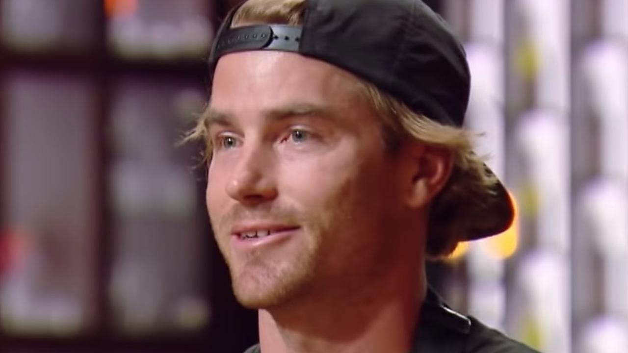Hayden Quinn on MasterChef Australia.