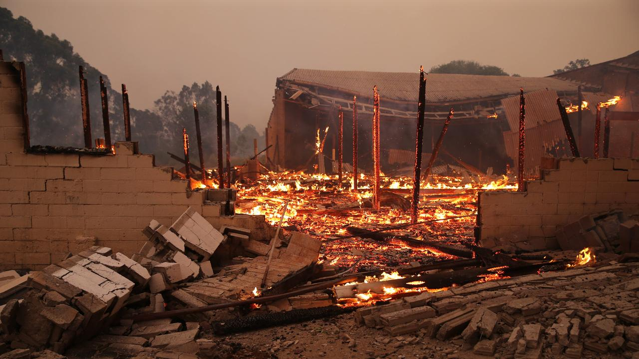 Batlow was one of the hardest hit NSW regions during the devastating bushfire season. Picture Rohan Kelly