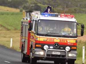 UPDATE: Fire and Emergency Services left the scene and 150 tonne of stock was damaged