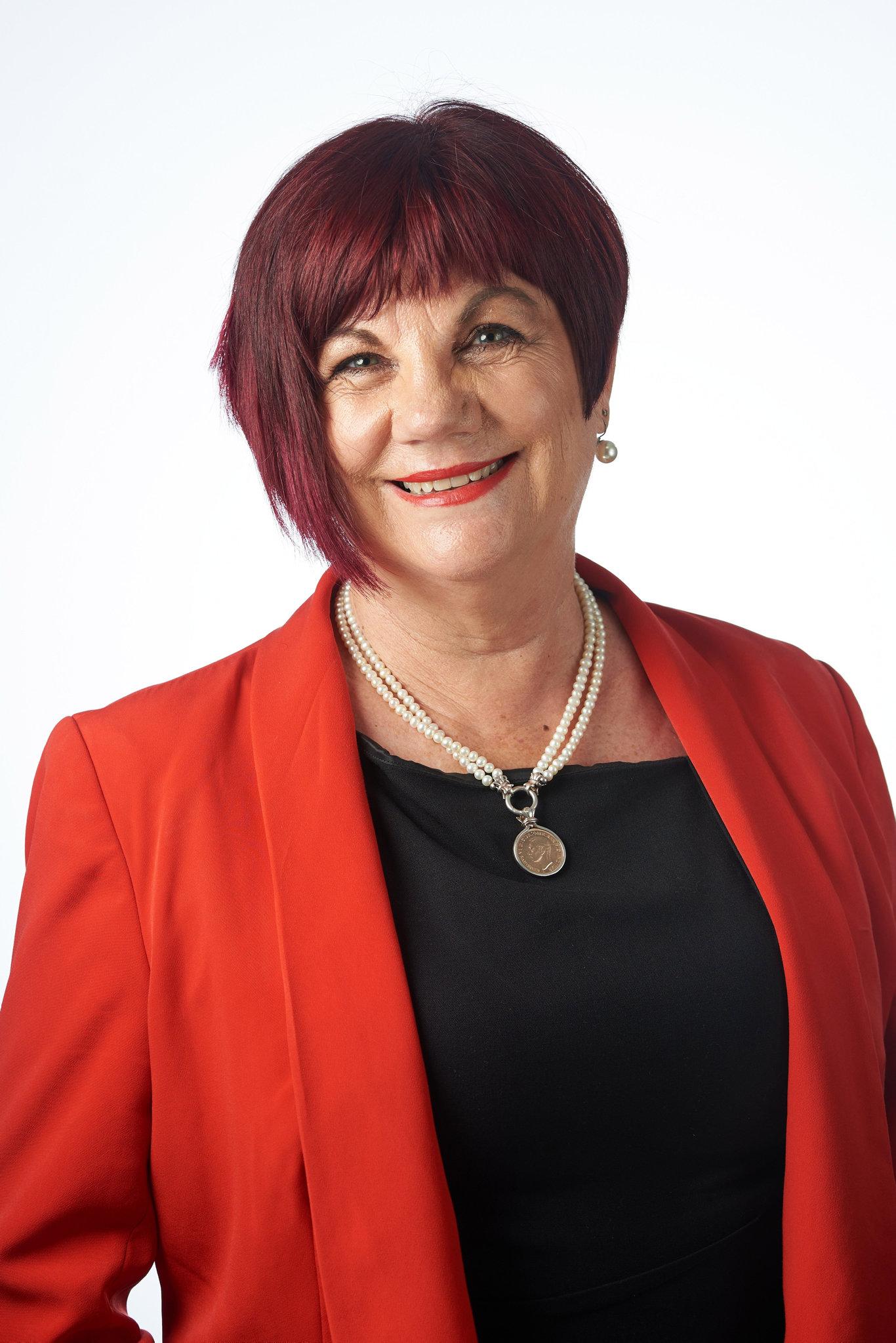 Cr Pauline Townsend.