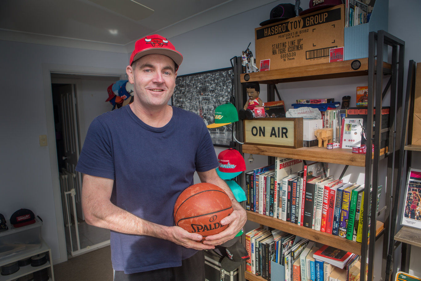 Adam Ryan's passion for the NBA and Michael Jordan has landed him a credit in the newly release docuseries The Last Dance.