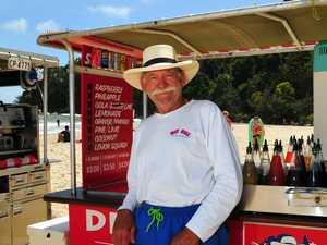 Hey Bill's back on the beach