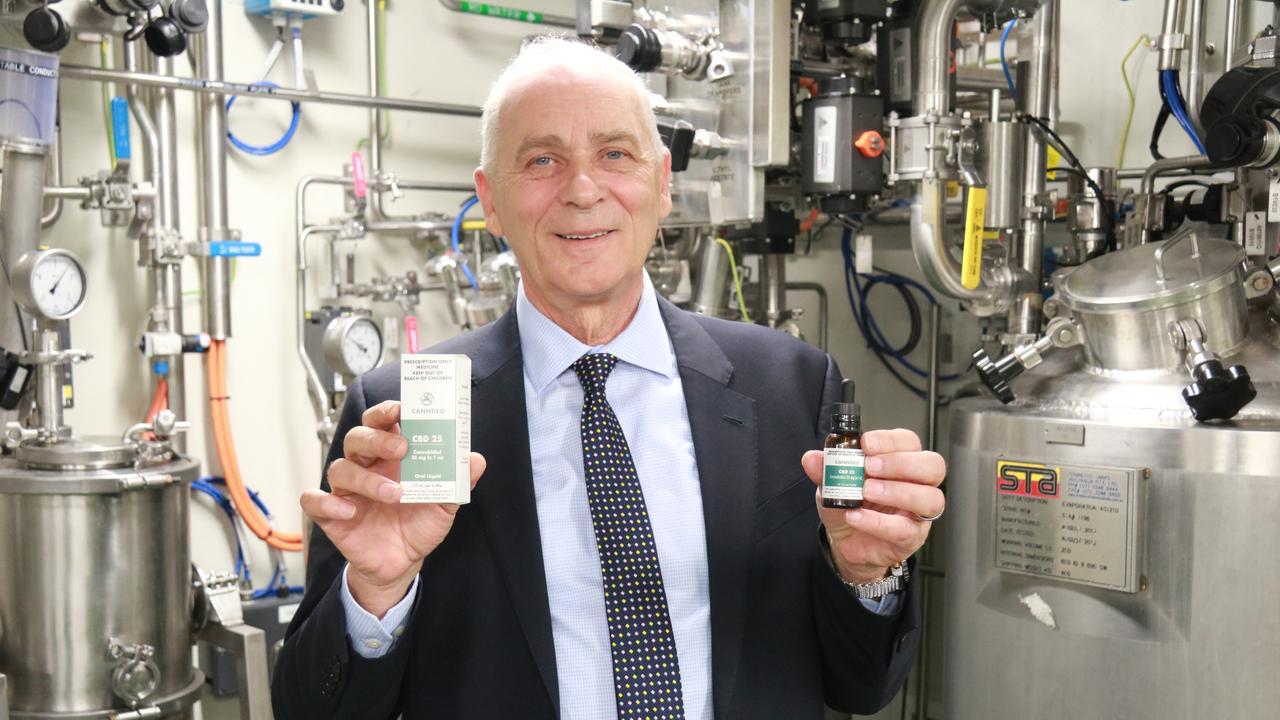 THC Global CEO Ken Charteris.
