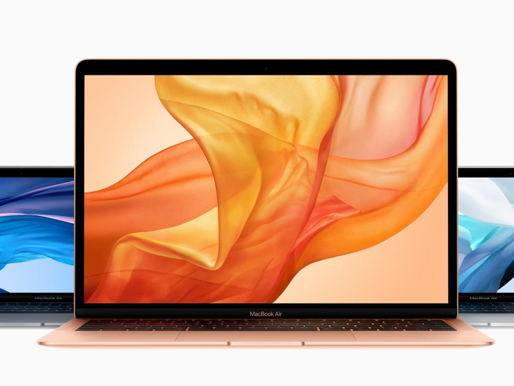 Apple's new 13-inch MacBook Air.