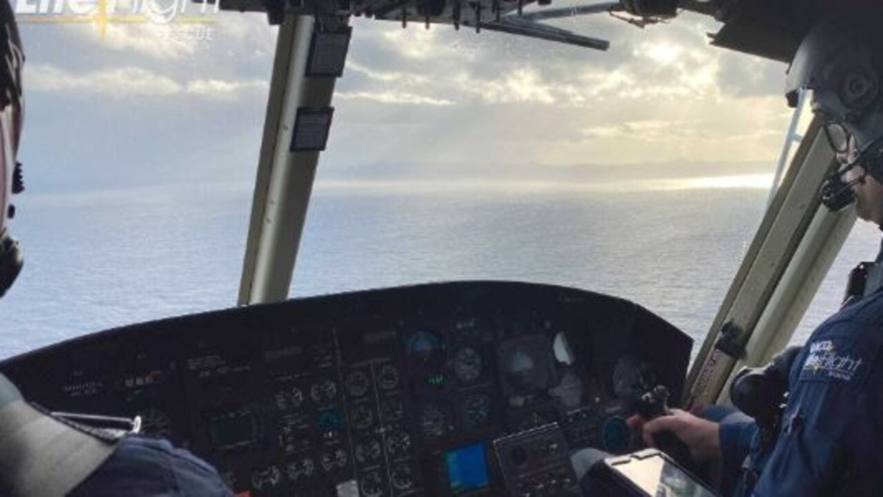 The major search for a missing Sunshine Coast fisherman began again at first light this morning.
