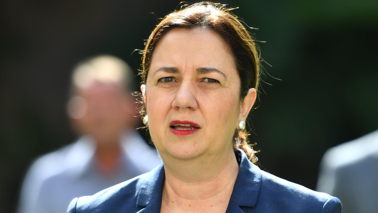 Queensland Premier Annastacia Palaszczuk. Picture: Darren England/AAP