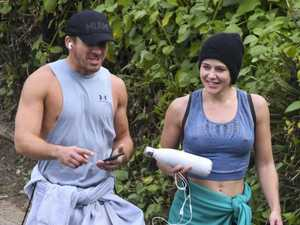 Healthy Jessica Marais seen on hike with Hugh Sheridan