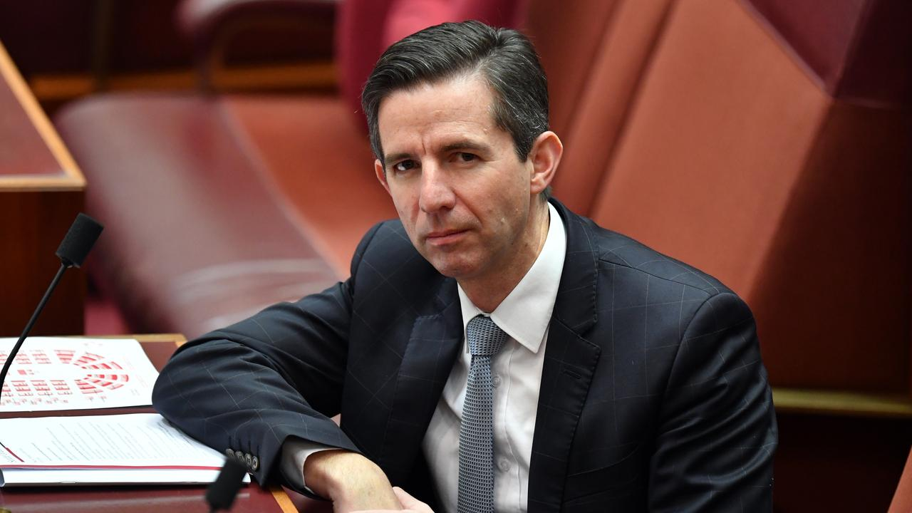 Senator Simon Birmingham. Picture: Sam Mooy/Getty Images