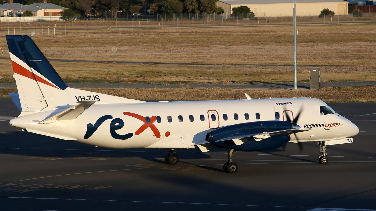 NEW RULES: Regional Express said face masks will be mandatory for all Rex flights from June 1. Photo: Emma Brasier